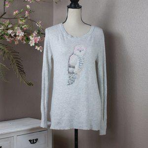 LOFT Soft Owl Sweater